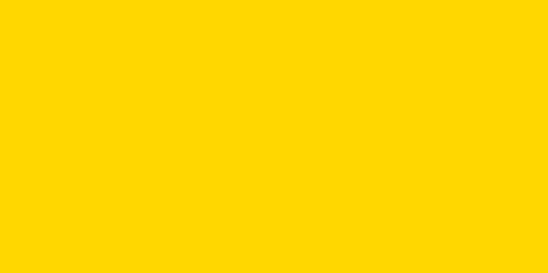 yellow website shape